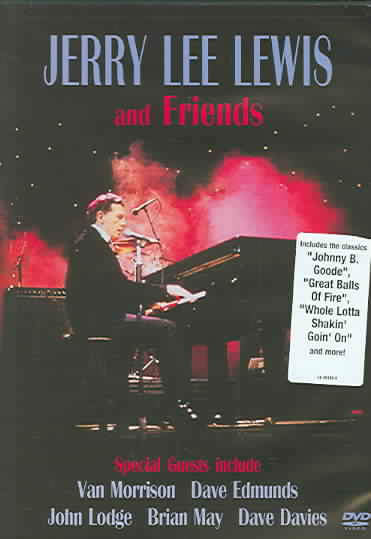 JERRY LEE LEWIS AND FRIENDS BY LEWIS,JERRY LEE (DVD)
